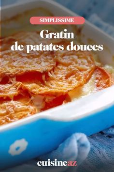 Une recette facile de gratin maison à base de patates douces. #recette#cuisine #gratin #patatesdouces Macaroni And Cheese, Cereal, Breakfast, Ethnic Recipes, Food, Meat, Fish, Dish, Morning Coffee