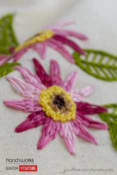 Easy and Relaxing Hand Embroidery: Modern Art