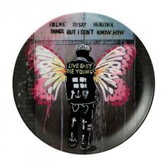 Limited Edition Pure Evil Plate Beautiful Thing 27cm