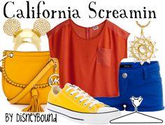 California Screamin by disneybound