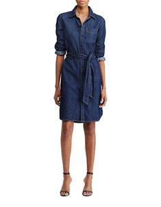 Women | Casual & Day Dresses  | Denim Shirtdress | Hudson's Bay