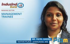 Congratulations #PayelGhosh #InduslndBank  #PIBMPlacements #Jobs #Success #MBA #PGDM