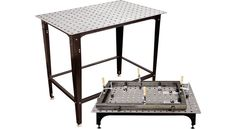 Strong Hand Tools FixturePoint Table and Tools Kit - 28-Pc. Startup Kit, Square Stock, Model# TBHK100