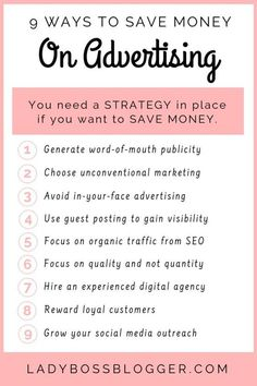 This blog will teach you how to save money on #advertising. Small Business Management, Small Business Organization, Small Business Marketing, Business Branding, Social Media Marketing, Marketing Ideas, Business Planner, Business Tips, Online Business