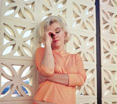 "camillejaval: """"Marilyn Monroe photographed by George Barris at Tim Leimert's house in Nord Hollywood Hills, June 30, 1962. "" """