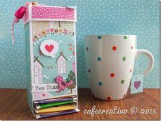 cafecreativo - craft asylum - Tea Bag Dispenser tutorial