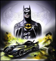 Batman Tv Show, I Am Batman, Batman Art, Batman Comics, Batman Arkham Knight, Batman The Dark Knight, Keaton Batman, Badass Movie, Neon Artwork