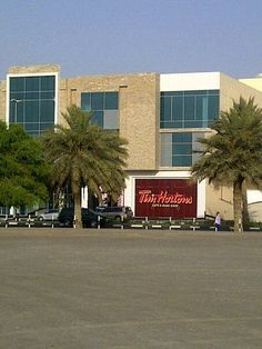 Tim Horton's in Dubai. It's seems wrong and yet...