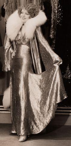 Golden Goddess ☆ Clara Bow ☆ No Limit (1931)