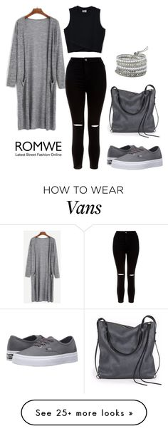 """""""Romwe"""" by okano on Polyvore featuring New Look, Vans and Ina Kent"""