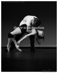 dance is an emotion