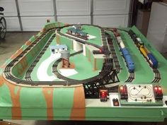 1950's Lionel O Gauge Train Layout Restoration Project and Operation 2013 - YouTube