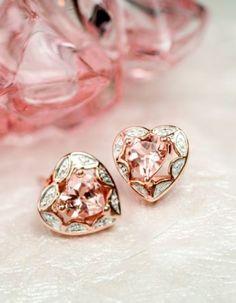 #beautiful Heart earrings...