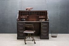 The elegance of the 1890s showcased in the Quartermasters Vintage Desk