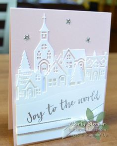 Powder Pink Sky by Chris Slogar - Cards and Paper Crafts at Splitcoaststampers