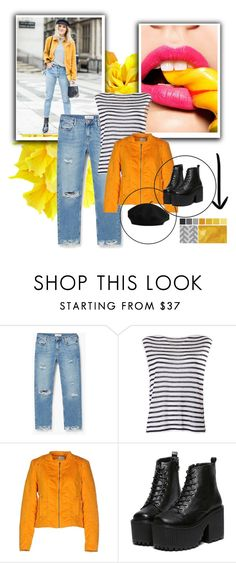 """""""Untitled #38"""" by amrafashion ❤ liked on Polyvore featuring MANGO, T By Alexander Wang and Vero Moda"""