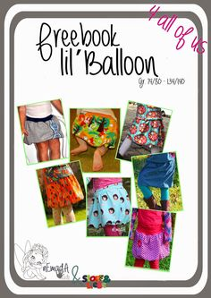 Freebook_nEmadA_lil_Balloon - Nähen, Kleidung, Kinder, Rock