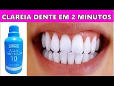 CLAREIA DENTE EM 2 MINUTOS - ELIMINA MAU HÁLITO e GENGIVITE. - YouTube Nail Drill Machine, Hair Care Recipes, Belleza Natural, Health Facts, Fitness Nutrition, Spa Day, Curly Hair Styles, Beauty Hacks, Skin Care