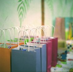 goody bags - colours!