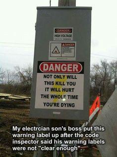 Electrician humor