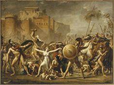 Jacques-Louis David   Les Sabines   Images d'Art
