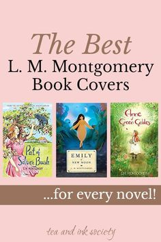 Build your L. M. Montgomery collection with the most beautiful book editions and cover art! I scoured the internet for the best copies of Anne of Green Gables, Emily of New Moon, The Blue Castle, and every other Montgomery novel. Add these to your wishlist! Literature Books, Classic Literature, Classic Books, Anne Of Ingleside, Emily Of New Moon, Anne Of Windy Poplars, Anne Of The Island, Anne Of Avonlea, Beautiful Book Covers