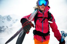 Matilda Rapaport in A Skier Knows - Entering a skiers mind