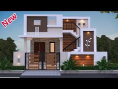 House Front Wall Design, House Outer Design, Single Floor House Design, House Roof Design, Modern Small House Design, House Outside Design, Modern Exterior House Designs, Village House Design, Kerala House Design