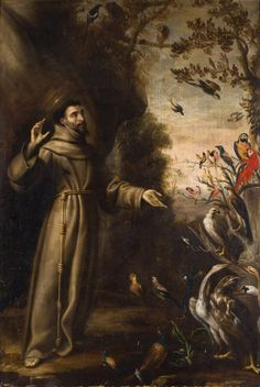Saint Francis Preaching to the Birds - Juan Carreño de Miranda