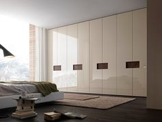 Armoire composable laquée ALIBI Collection Tecnopolis by Presotto Industrie Mobili | design Pierangelo Sciuto