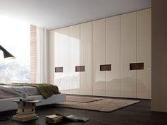 Sectional lacquered wardrobe ALIBI Tecnopolis Collection by Presotto Industrie Mobili   design Pierangelo Sciuto