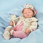 Ashton Drake ALL DOLLED UP EMILY So Truly Reborn Baby Girl Doll by Helen Jalland