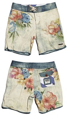 66a86682ea Billabong X Stab Magazine Boardshorts Collaboration Men's Fashion, Floral  Shorts, Mens Boardshorts, Men