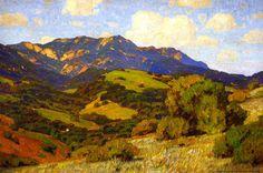 The Athenaeum - Rolling Hills, California (William Wendt - 1910)