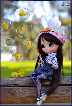 Catching chicks in a bubble!! | Who wants to be the next?? *… | Flickr - Photo Sharing!
