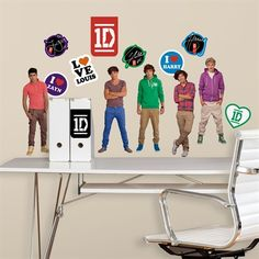 Now in stock: One Direction wall decals!