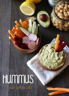 hummus de abacate