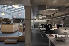 Amore office by Koncept Stockholm, Sweden   concrete   sustainability   creative workspace