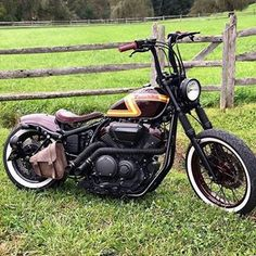 Yamaha Bolt bobber by ⚡️tag local bikes with Harley Bikes, Harley Davidson Motorcycles, Custom Motorcycles, Custom Bikes, Yamaha Bolt Custom, Custom Harleys, Chopper Motorcycle, Bobber Chopper, Bolet