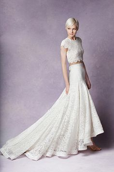 f649a18052a Contemporary bridal top and skirt from Tatyana Merenyuk wedding dresses  2016 - see the rest of