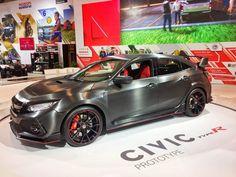 2017 autoshow - Ryan Durrell - Honda Civic Type R