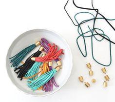 DIY Leather Tassels   Centsational Girl   Bloglovin'