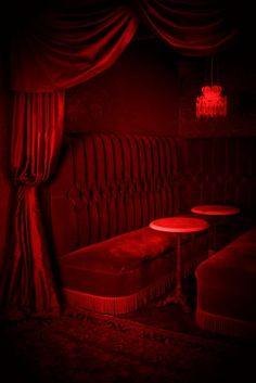 Gothic Bedroom - When you are looking for timeless design and create an emotional sign, nothing is better than the gothic style. You are in the right place about Color Splash, Neon Licht, Gothic Bedroom, Red Wallpaper, Red Rooms, Aesthetic Colors, Red Walls, Shades Of Red, Ruby Red