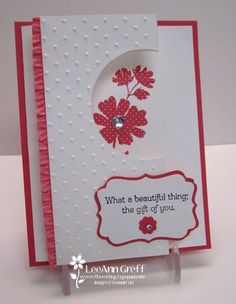 Gifts of Kindness Fun Fold card  from Flowerbug's Inkspot