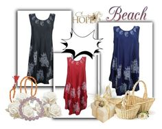"""""""Boho Gypsy Hippie Chic Tank Dresses"""" by era-chandok ❤ liked on Polyvore featuring Vie Active and searchProductResult"""