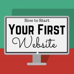 how to make your first website