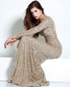 Gorgeous long sleeve gown