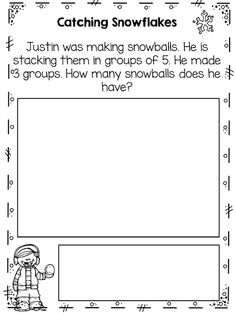 Addition word problem freebie.