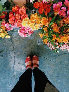 Addicted to flower markets.  | Gabrielle Assaf | VSCO Grid