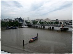#Thames #London View from the #LondonEye See all my photos of this trip in what I like to call my 'Plog': http://thelondonscrapbook.com/2013/07/27/london-eye-landmarks/